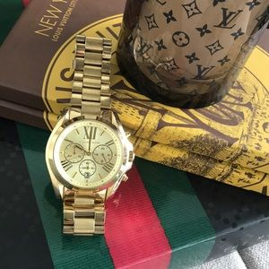 Michael Kors Gold Bradshaw Watch #5605
